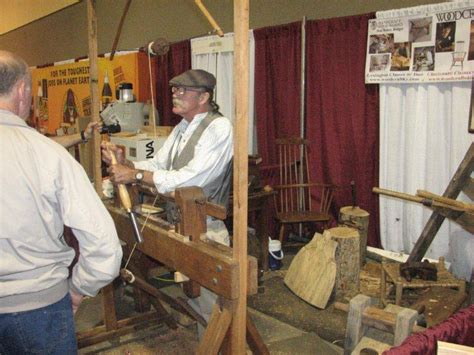 heritage school of woodworking don weber and his pole lathe heritage school of