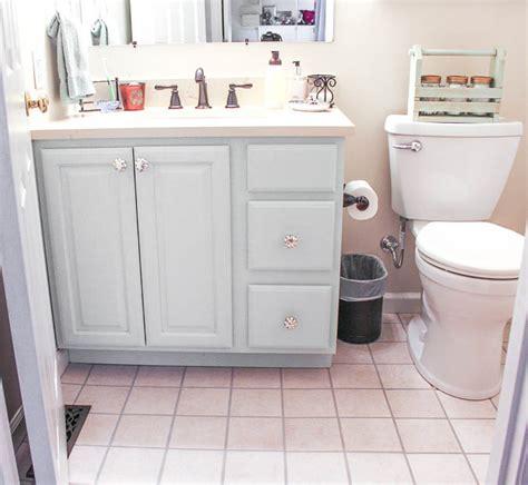 Bathroom Vanity Makeover by Diy Bathroom Vanity Makeover Sweet Parrish Place