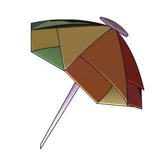 origami umbrella easy umbrella origami diagram invitations ideas