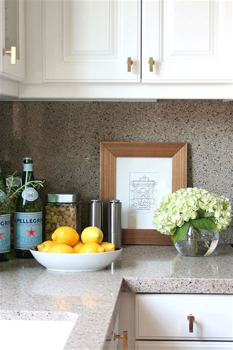 decorating ideas for kitchen countertops white kitchen cabinets with brass knobs transitional kitchen erika brechtel