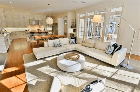 Space For Kitchen Island open floor plans a trend for modern living