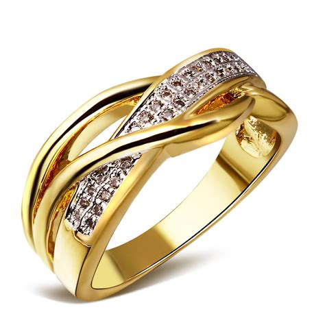 rings for jewelry 2 tone plating wedding ring jewelry 2014 fashion
