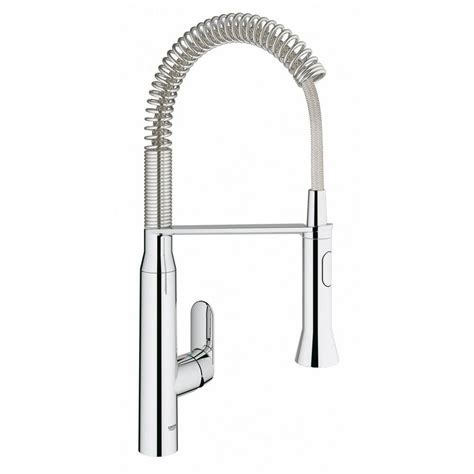grohe kitchen faucets grohe k7 medium single handle pull sprayer kitchen