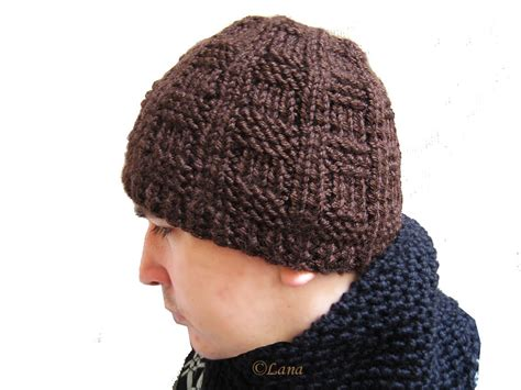 free knitting pattern mens beanie knit beanie hats for quotes