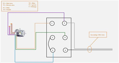 Single Phase Motor by Single Phase Electric Motor Wiring Diagram Vivresaville