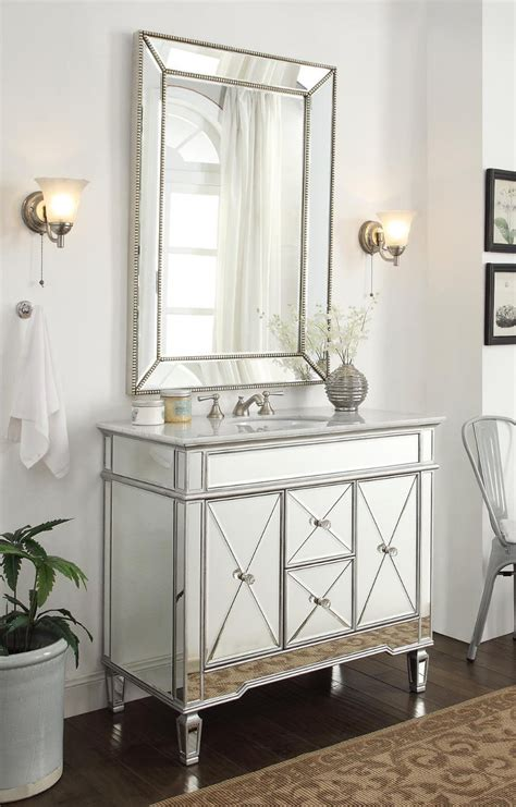 White Mirrored Bathroom Cabinet by Mirrored Bathroom Vanity Cabinets Home Design