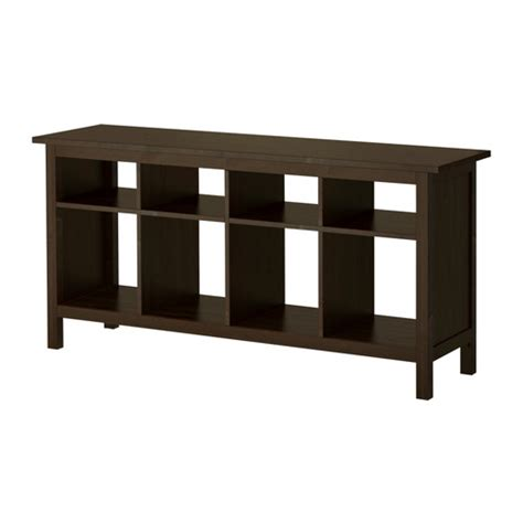 hemnes sofa table ikea hemnes sofa table black brown ikea