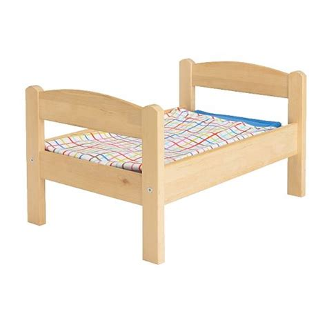 bed toys duktig doll bed with bedlinen set ikea