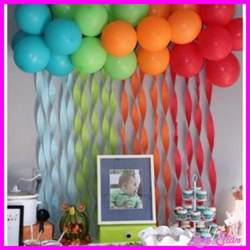 birthday decorations ideas at home 10 simple birthday decoration ideas at home livesstar