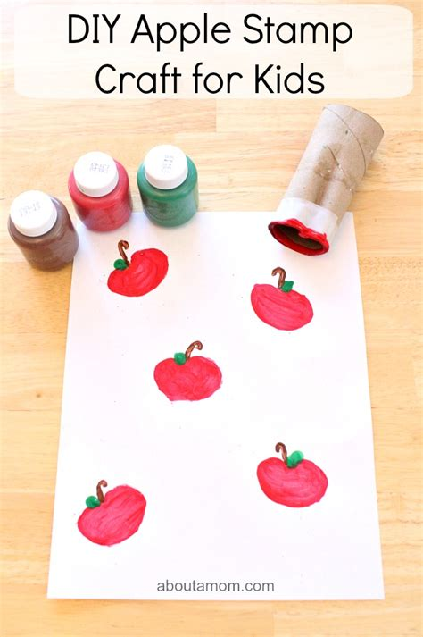 baking crafts for diy apple st craft for about a