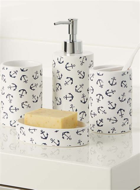 anchor bathroom accessories 25 best ideas about nautical bathroom accessories on
