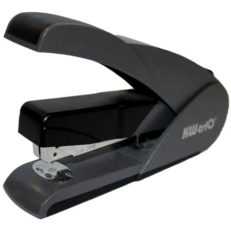 staples rubber st light touch plastic stapler 105 24 6 26 6 black beyond