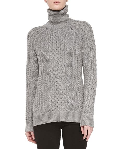 cable knit turtleneck vince cable knit turtleneck sweater