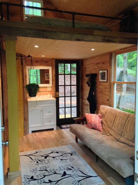 10 X 20 Cabin Floor Plan 180 square foot tiny house with the open feel of a full
