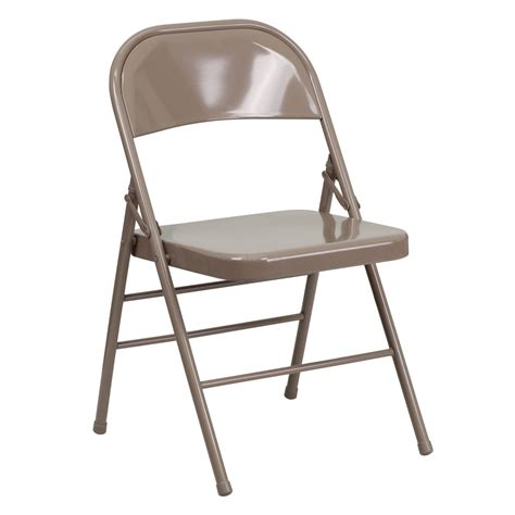 folding chairs trident furniture steel commercial folding chair