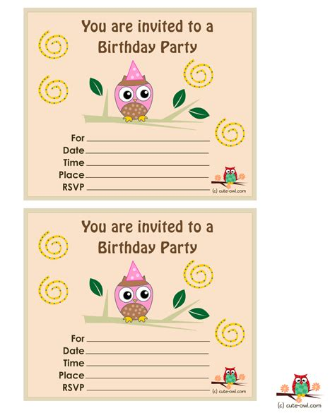 make birthday invitation cards for free birthday invitations free theruntime