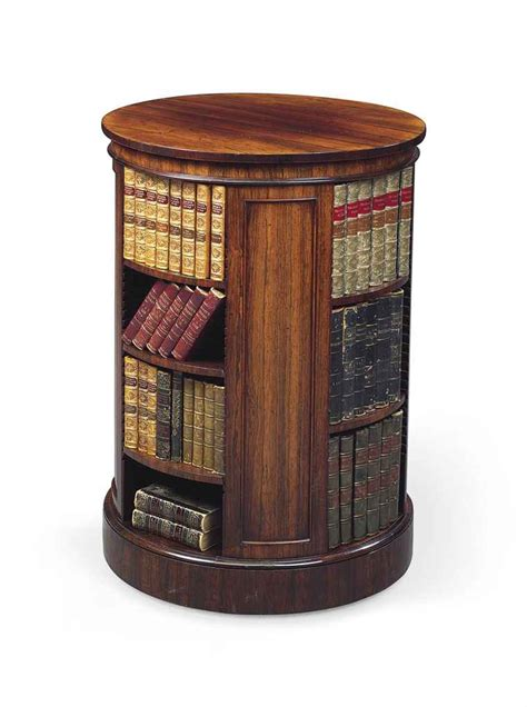 circular bookshelves a george iv rosewood circular bookcase by gillows circa