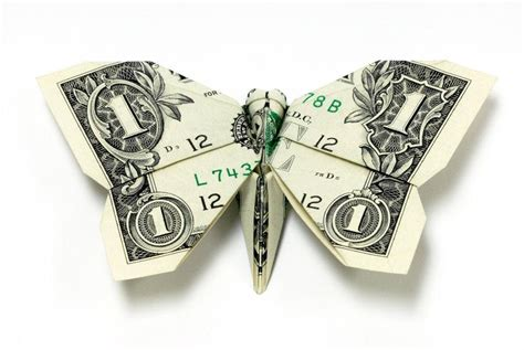 money origami butterfly excellent exles of dollar bill origami digital