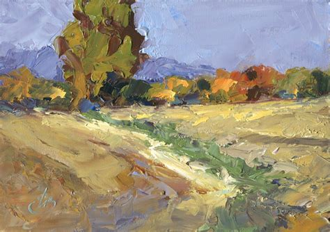 painting palette knife tom brown landscape palette knife painting by