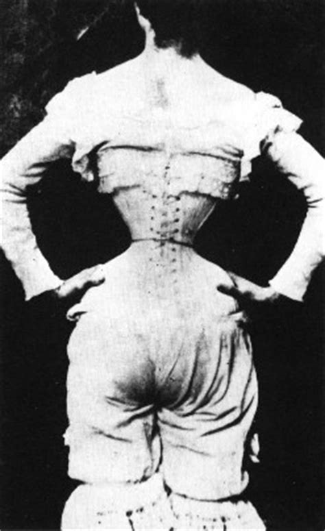 history of waist wasp and corsets on