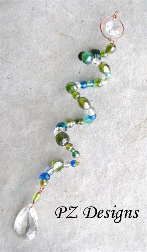 how to make bead suncatchers silver serpent studio s beaded suncatchers beyond