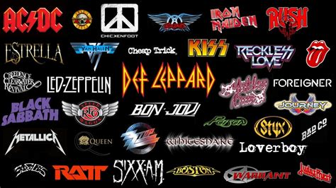 best hard rock bands classic rock bands of the 80s
