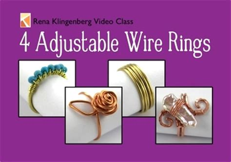 ways to make jewelry learn four ways to make wire rings adjustable