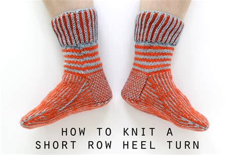 how to turn when knitting how to knit a row heel turn funkasonic kal