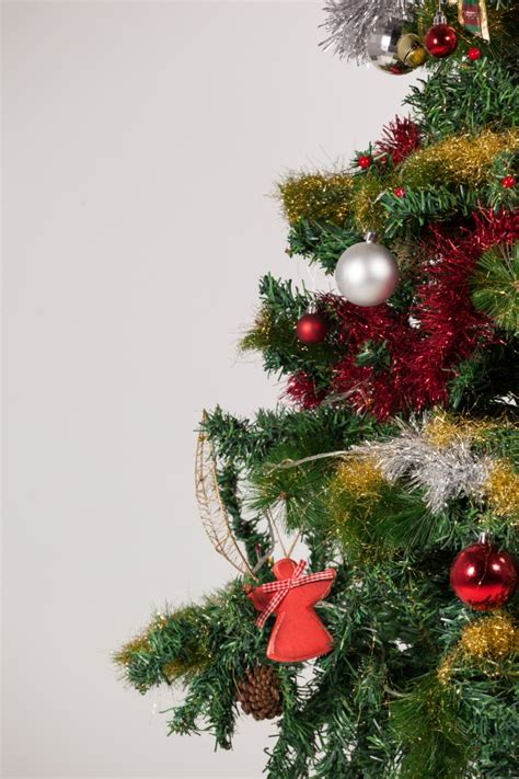 tree decorated images decorated tree photo free