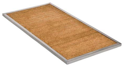modern doormats maude outdoor door mat medium modern doormats