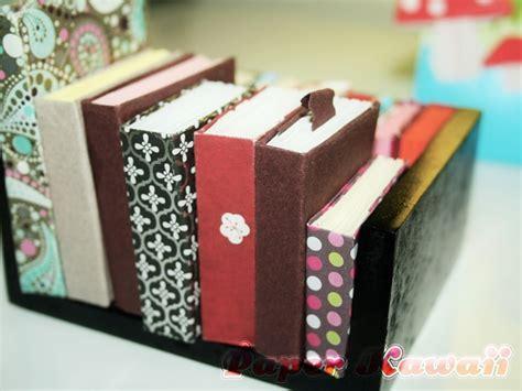 mini origami book mini origami books tutorial paper kawaii