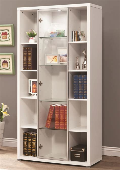 bookshelves with sliding doors 10 bookcases with doors for and open storage ideas