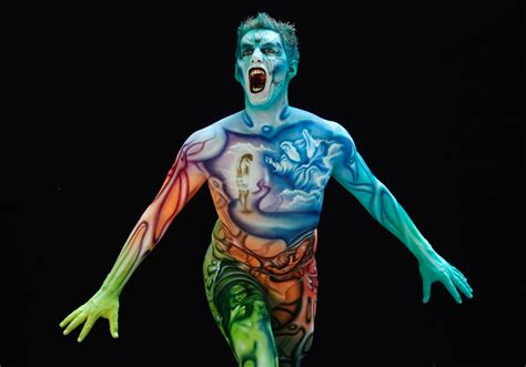 world bodypainting festival austria hosts world bodypainting festival photos