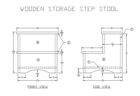 woodworking plans step stool build diy woodworking plans folding step stool pdf plans