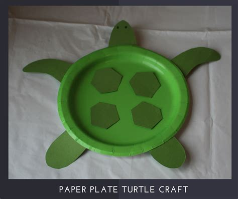paper plate turtle craft submerged alternative craft ideas autry creations