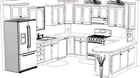 how to design a new kitchen layout kitchen design sketch awesome 13988 02drawing