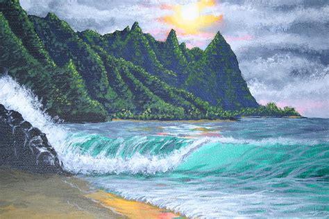 acrylic painting mountains acrylic mountain and study by ileana carreno