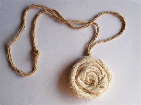 material to make jewelry fabric flower necklace 183 how to make a fabric necklace