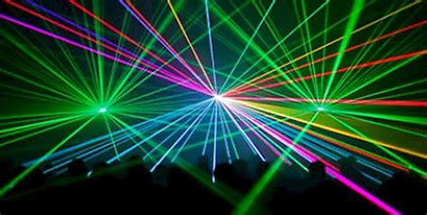 lightshow lights laser light show clifton hill niagara falls canada