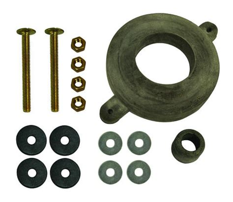 Toilet Tank Gasket Replacement by Plumb Works Tank To Bowl Kit With Brass Bolts And Rubber