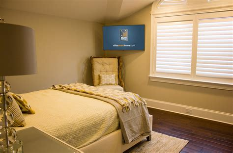 tv furniture for bedroom when and how to place your tv in the corner of a room