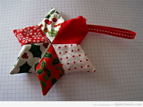 tutorial arbol de navidad patchwork tutorial con patr 243 n para hacer un adorno navide 241 o de