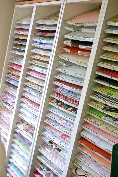 paper craft storage solutions storage solutions paper organization