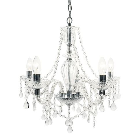 chrome chandelier avignon 5 light glass and chrome chandelier chrome from