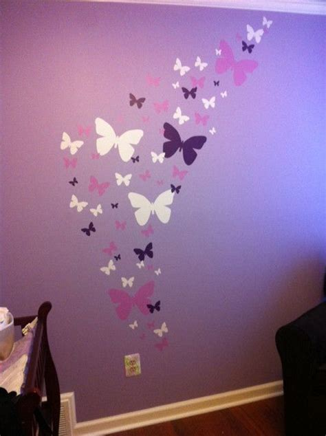 purple wall stickers best 25 purple bedroom walls ideas on purple