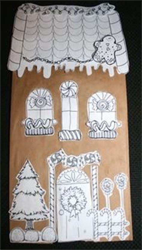 paper bag gingerbread house craft 619 best preschool images on kid