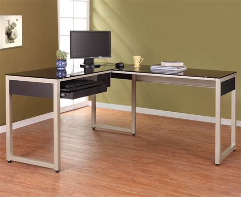 home office desks l shaped luxury contemporary industrial corner desk for home or