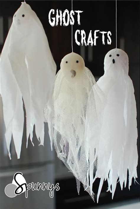ghost craft for ghost crafts 3 easy ornament ideas spunnys