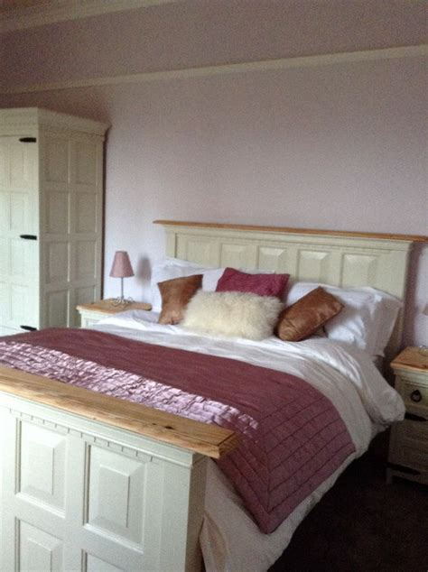 Shabby Chic Bedrooms Pinterest by Stunning Mexican Pine Rustic Bed Hand Painted X Shabby