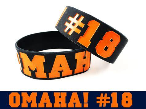 Omaha Rubber Bracelet